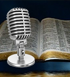 Bible and Microphone